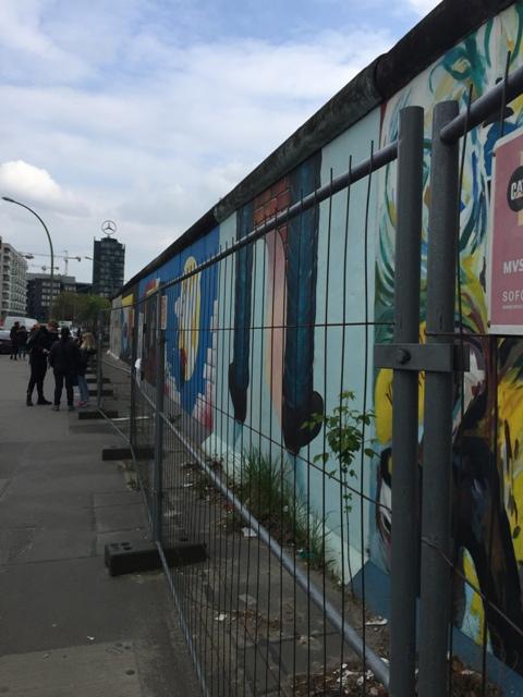 柏林墙的石头