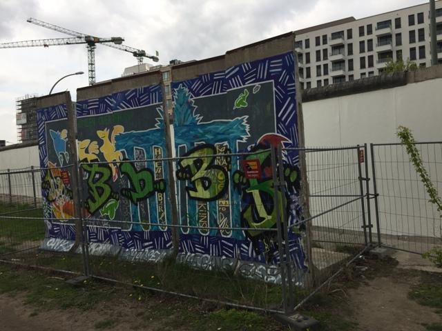 柏林墙涂鸦