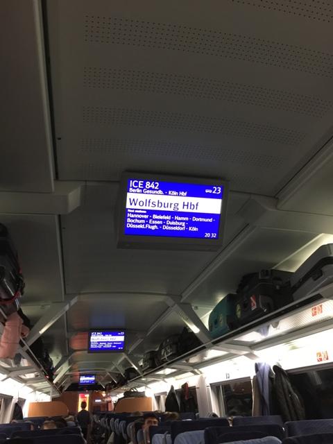 德国火车上