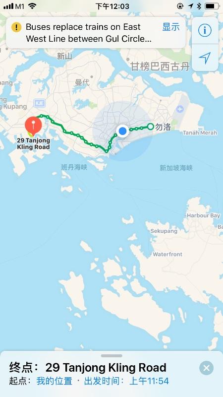 新加坡出差线路