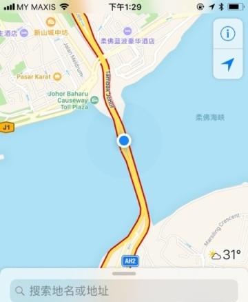 新山去新加坡